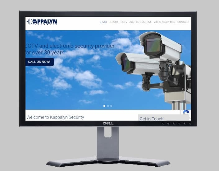kappalyn security systems-Websites by web designer Angie from Fast Cheap Websites Melbourne Sydney Brisbane Adelaide Perth Gold Coast