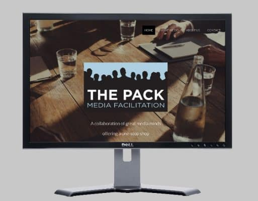 The Pack Media media solutions-Websites by web designer Angie from Fast Cheap Websites Melbourne Sydney Brisbane Adelaide Perth Gold Coast