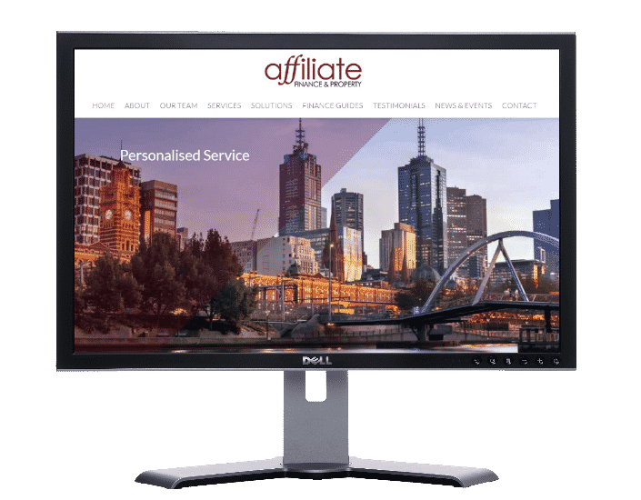 financial servies- Websites by web designer Angie from Fast Cheap Websites Melbourne Sydney Brisbane Adelaide Perth