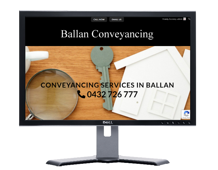 ballan Conveyancing-Websites by web designer Angie from Fast Cheap Websites Melbourne Sydney Brisbane Adelaide Perth Gold Coast