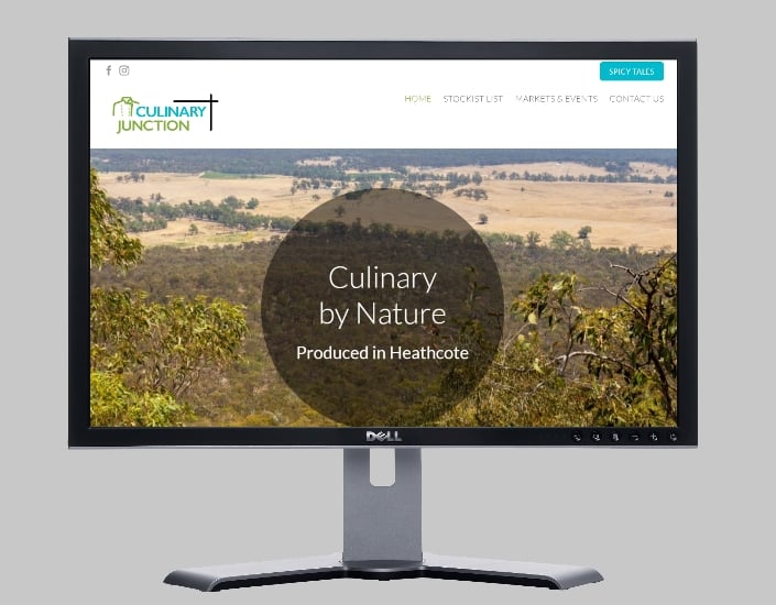 manufacturer of spices-Websites by web designer Angie from Fast Cheap Websites